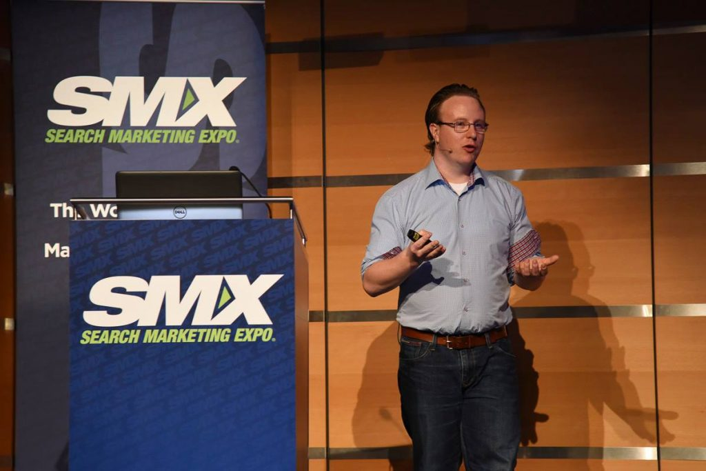 Speaking at SMX Munich 2015